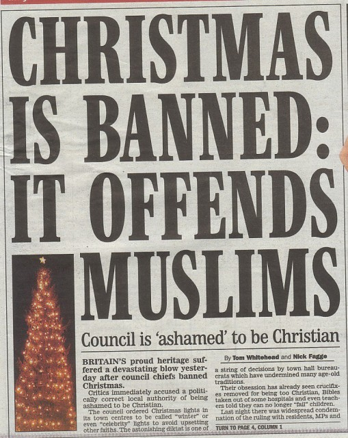 Muslims love Jesus and wish Christians would put Christ back in Christmas - but the Zionist media won't tell you that!
