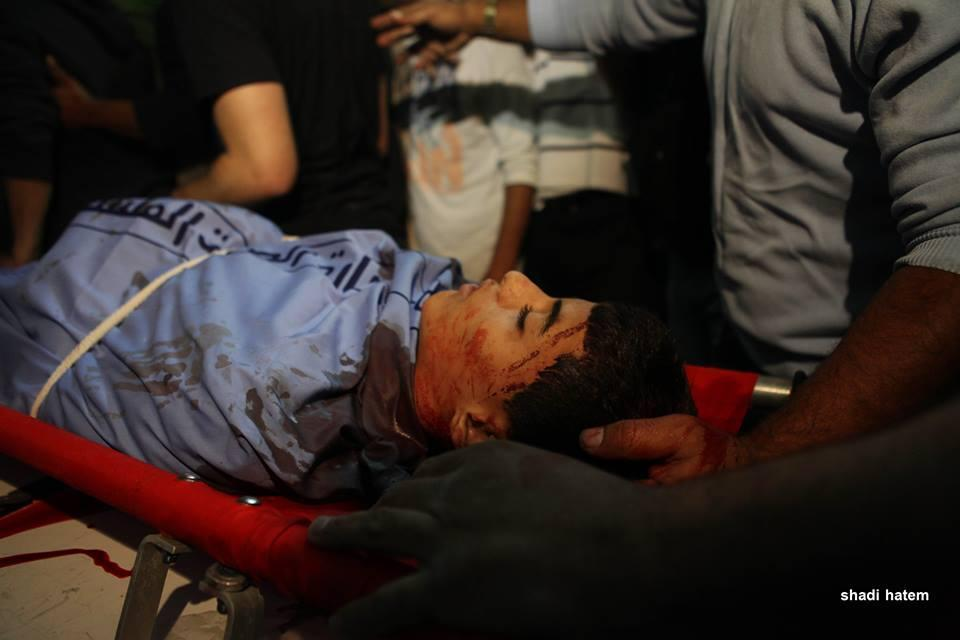 14-year old slain Palestinian youth, Orwa Hammad who is also a U.S. citizen, was killed by the Israeli army, October 24, 2014. (Photo: Shadi Hattem)