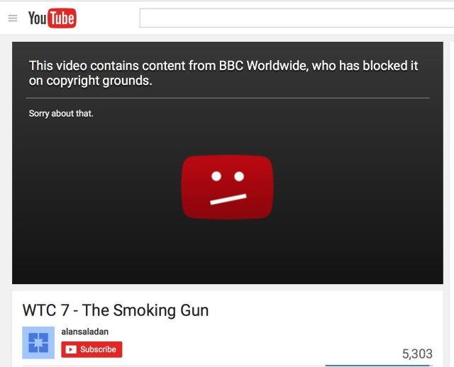 """BBC, which reported the """"collapse"""" of WTC-7 20 minutes before it happened, is still trying to cover up 9/11"""