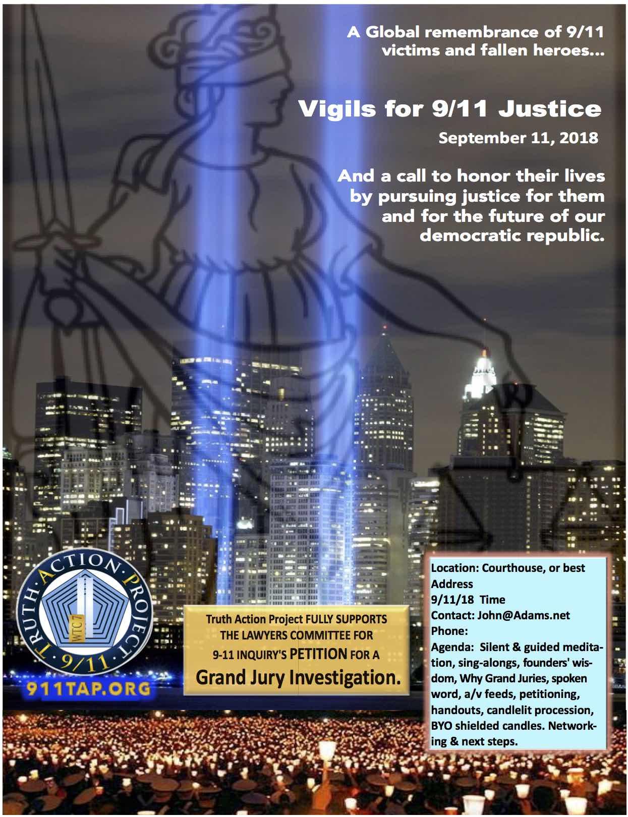 Discussing 9/11 activism with Matt Van Slyke—then Rolf
