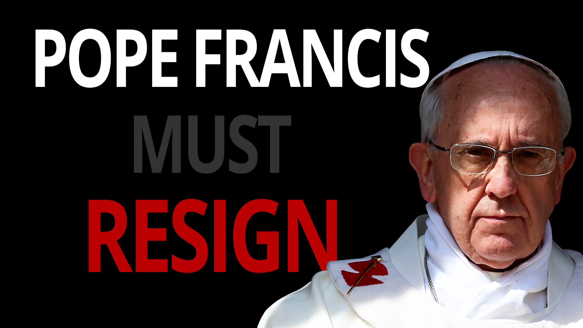 e  michael jones on why the pope should resign  brian ruhe