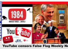 This week's False Flag Weekly News banned from YouTube!