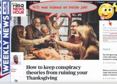 FFWN: How to keep sheeple from ruining your Thanksgiving: Watch False Flag Weekly News!