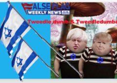 FFWN: Tweedledumb BoJo & Tweedledumber Trump Ban BDS
