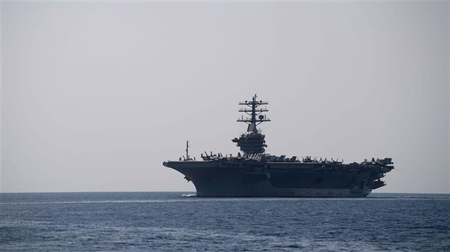 USS Nimitz aircraft carrier enters Persian Gulf after Pompeo's threats against Iran